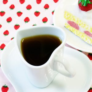 ラブタイムカフェ。ストロベリーバニラのカフェインレスコーヒー