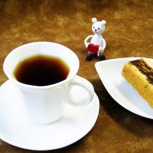 ラブタイムカフェ。アーモンドキャラメルバニラのカフェインレスコーヒー