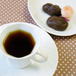 ラブタイムカフェ。メープルチョコレートのカフェインレスコーヒー