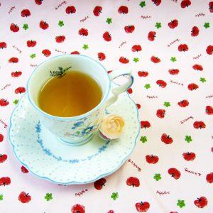 ラブタイムカフェ。アップルのカフェインレス紅茶(フレーバーティー)
