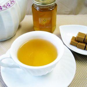 ラブタイムカフェ。キャラメルのカフェインレス紅茶(フレーバーティー)