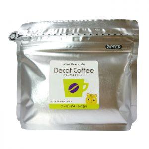 アーモンドバニラのカフェインレスコーヒー(パッケージ)