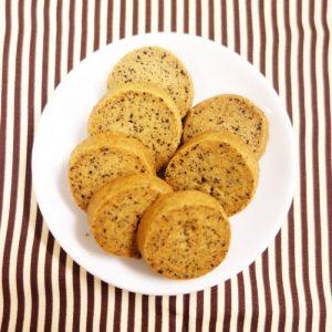 ラブタイムカフェ。ヘーゼルナッツコーヒーのクッキー