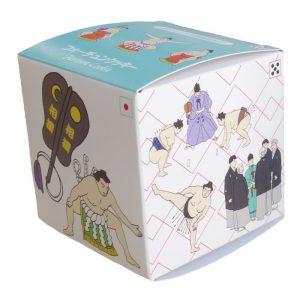 相撲フォーチュンクッキーの箱2