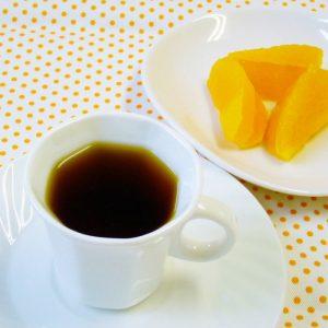 ラブタイムカフェ。メープルシナモンのカフェインレスコーヒー