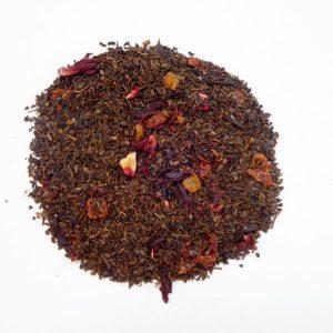 ラブタイムカフェ。グレープドリームのカフェインレス紅茶(茶葉:50g)