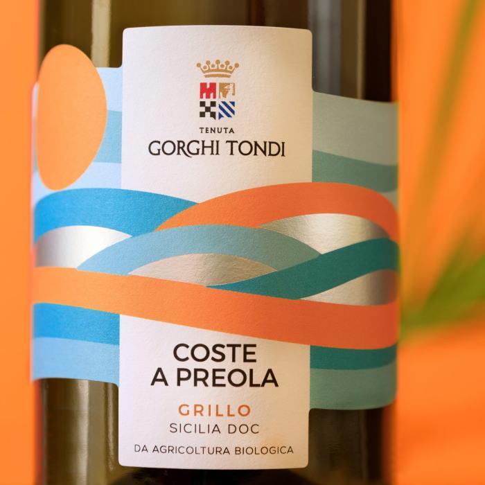 テヌータ ゴルギ トンディ コステ ア プレオラ グリッロ 2018(白ワイン)