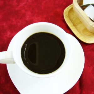 ラズベリーキャラメルのカフェインレスコーヒー