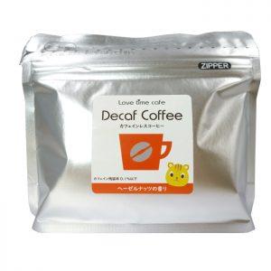 ヘーゼルナッツのカフェインレスコーヒー(パッケージ)