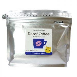フレンチバニラのカフェインレスコーヒー(パッケージ)